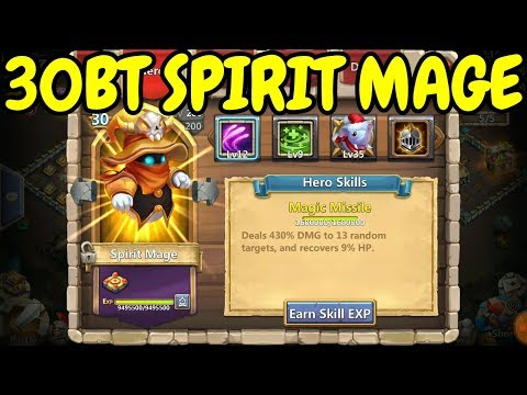 Spirit Mage L 30 Breakthrough In Action L Castle Clash