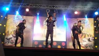 Charles Chocolate Black Eagles Dancers on Dancing Dynamites