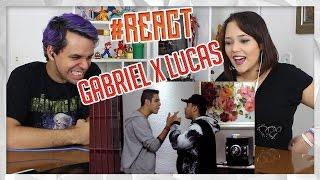 REACT Gabriel Rodrigues VS. Lucas ART 2 | Duelo de Titãs (7 Minutoz)