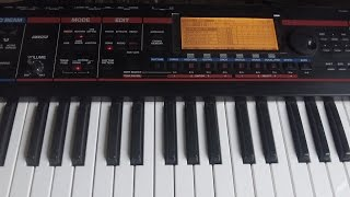 Roland juno-g how to sample