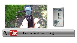 Ep 16: External audio recording on the cheap
