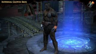 Path of Exile - Infernal Gloves Skin