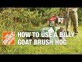 How to Use a Billy Goat Hydraulic Brush Hog Rental