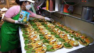 Славится вкусной корейской едой !! Традиционный рынок Кванмён. ТОП-5 / Korean street food
