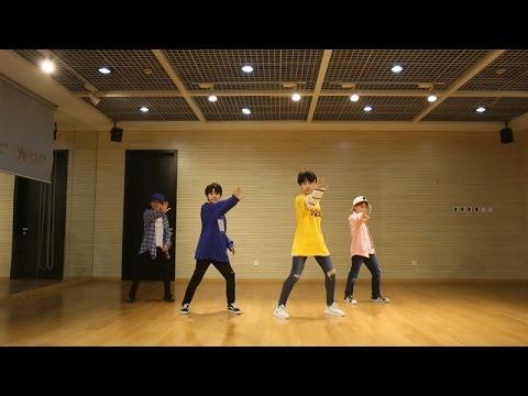 YHBOYS组合 - 《前方的世界》练习室舞蹈视频