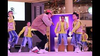 น้องเซน Dance สด กับ พี่ CD GunTee The Rapper