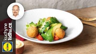 Krokety z tresky se salátem z fenyklu a avokáda - Roman Paulus - RECEPTY KUCHYNĚ LIDLU