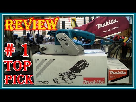 MAKITA  9924DB  BELT SANDER REVIEW - WHY THIS IS THE BEST BELT SANDER  ON THE MARKET