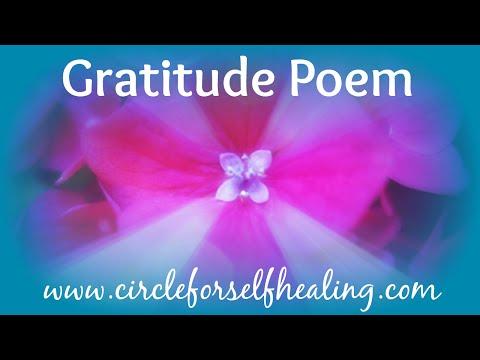 *Gratitude Poem*