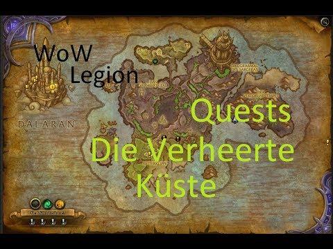 Izocke Wow Legion Quests In Die Verheerte Küste 074 Mal Der