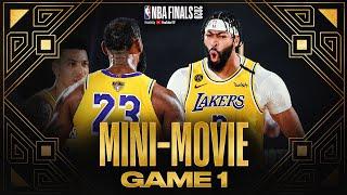 2020 NBA Finals Game 1 Mini-Movie