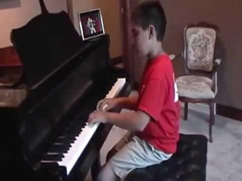 Mateo playing