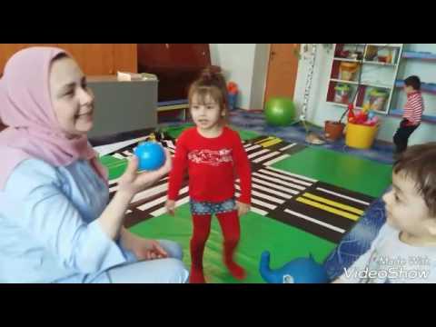 Веселые игры  c воспитателем во 2 младшей группе Сказка