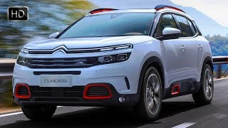 2019 Citroen C5 Aircross SUV Design Overview & Features HD