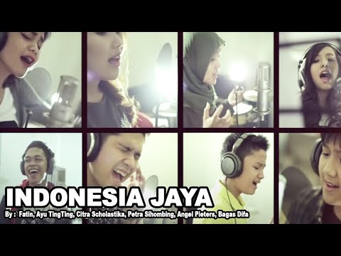 Free Download Fatin, Ayu Tingting, Citra Scholastika, Petra Sihombing, Angel Pieters, Bagasdifa - Indonesia Jaya Mp3 dan Mp4