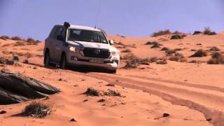 Toyota Land Cruiser 200 takes on the Namib Desert