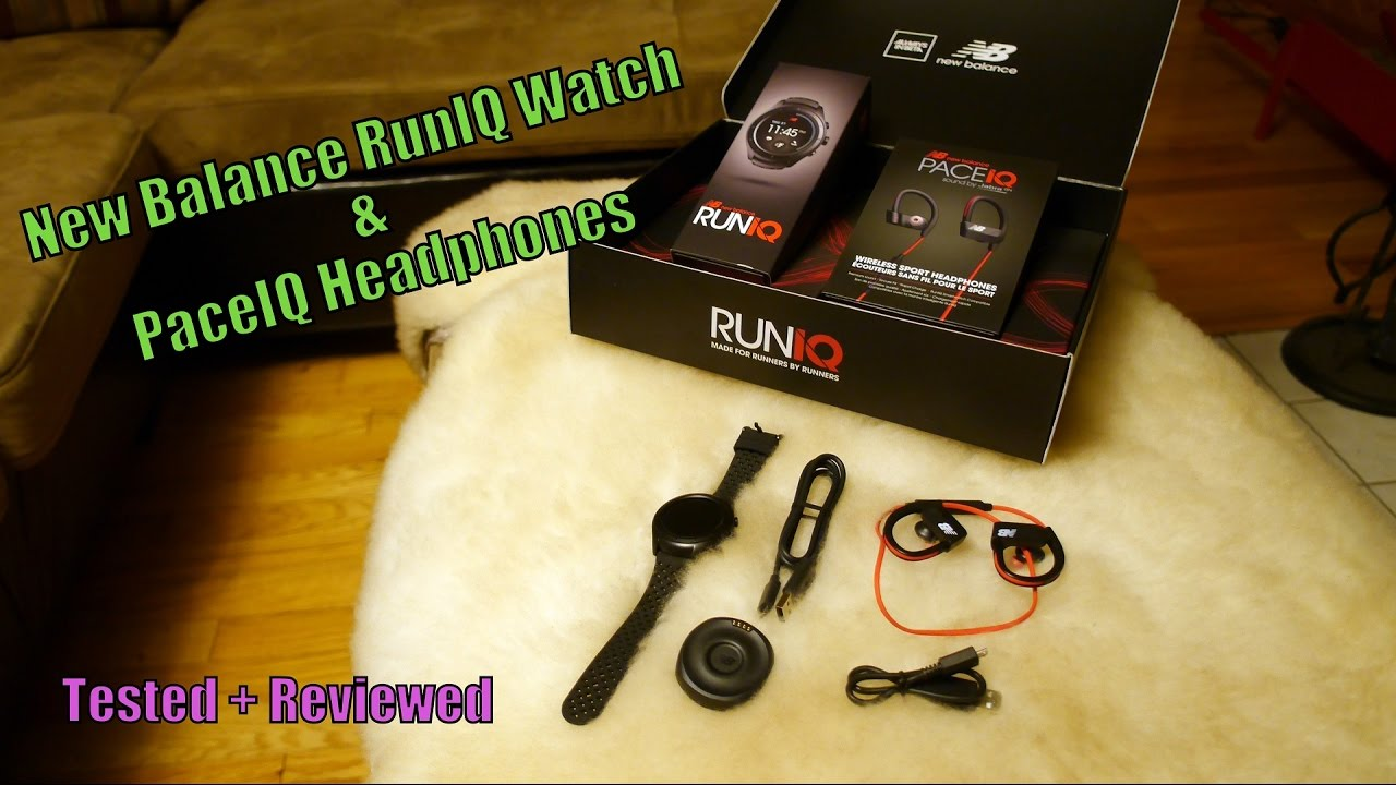 New Balance RunIQ Smartwatch and PaceIQ Headphones Tested + Reviewed