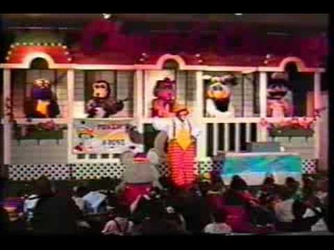 Fonzie The Clown Chuck E Cheese Part One Youtube