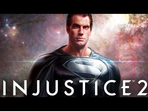 "JUSTICE LEAGUE Black Suit Superman! - Injustice 2 ""Superman"" Justice League Gear Gameplay"