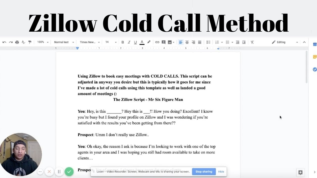 Ultimate Cold Call Method (SMMA 2019)