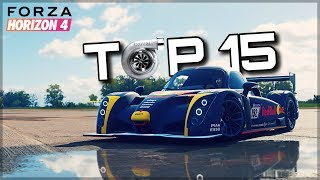 TOP 15 Best Turbo Sounds | Forza Horizon 4 | Blow Offs, Spools & Flutters!