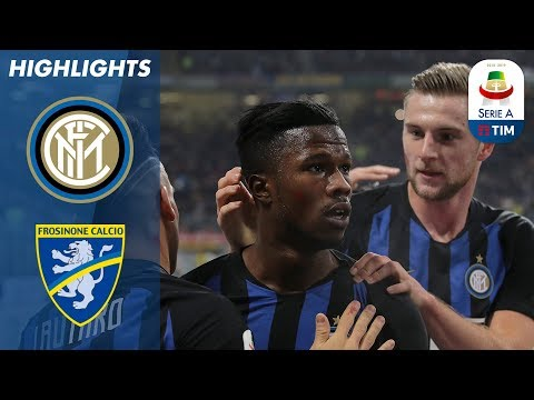 Inter 3-0 Frosinone | Inter Down Frosinone With Keita And Lautaro Goals | Serie A