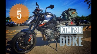Top 5 things I love about the 2018 KTM Duke 790