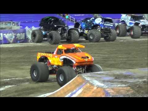 [HD] Advanced Auto Parts Monster Jam 2015 at Levi's Stadium (04/11/15)
