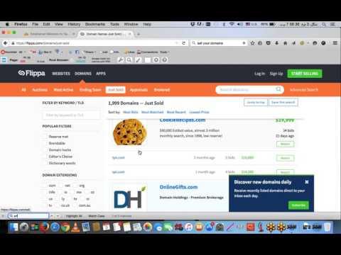 Premium Domain Selling   EmpireFlippers
