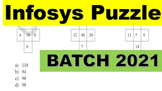 Infosys Puzzles 2021 batch |Sample Puzzles for Infosys | Important concept for puzzles |