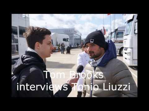 Tom Brooks interviews Vitantonio Liuzzi