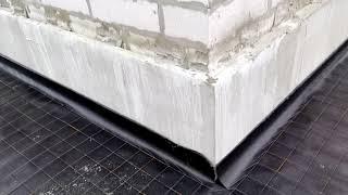 Часть 1. Отмостка вокруг дома. как правильно сделать чтобы фундамент не сырел.