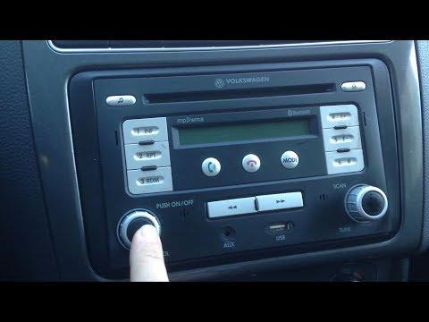 Volkswagen Polo - code radio
