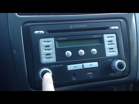 vw rmt 100 mp3 wma usb radio autoradio carradio car. Black Bedroom Furniture Sets. Home Design Ideas