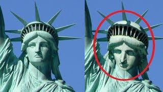 5 Bức Tượng Có Thể Tự Cử Động Được Camera Quay Lại || 5 Mysterious Moving Statues Caught on Camera
