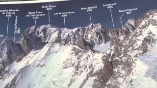 Mont Blanc - Courmayeur, Punta Helbronner w HD
