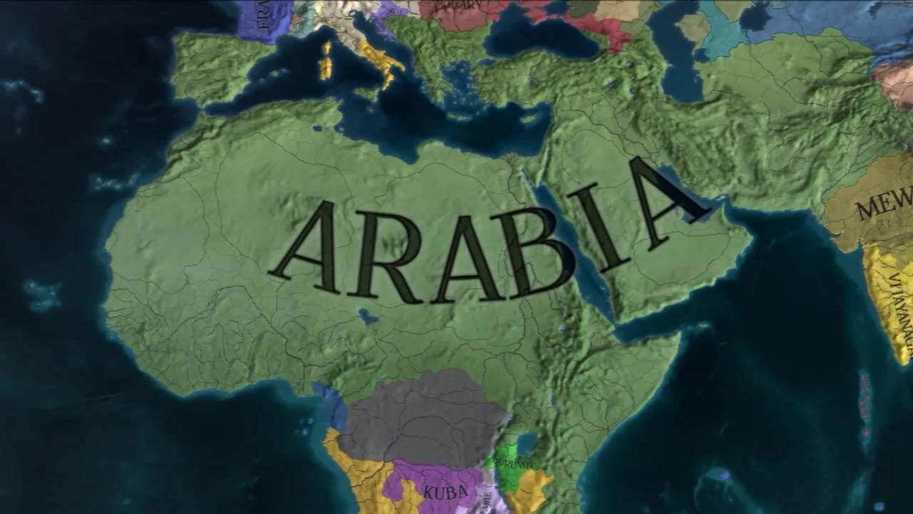 EU4 - Timelapse - Rise of my Arabian Empire - YouTube