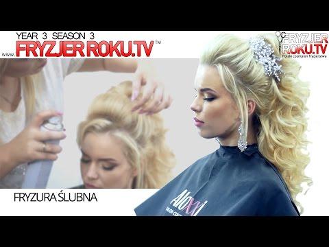 Fryzura ślubna. FryzjerRoku.tv