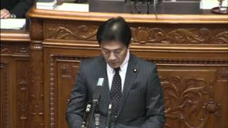 【賛成132・反対107で可決】 防衛大臣田中直紀君問責決議案 ・趣旨説明 ...