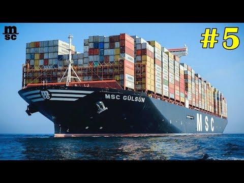 5 เรือบรรทุกสินค้า ที่ใหญ่ที่สุดในโลกกก!! (ใหญ่โคตรๆ) 5 World's largest container vessel
