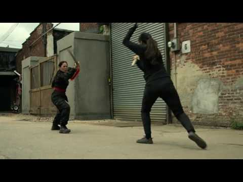 Colleen Wing VS warrior of the Hand- Sword Fight