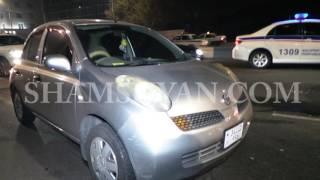Իսակովի պողոտայում բախվել են Nissan ը, Toyota ն ու Renault տաքսին