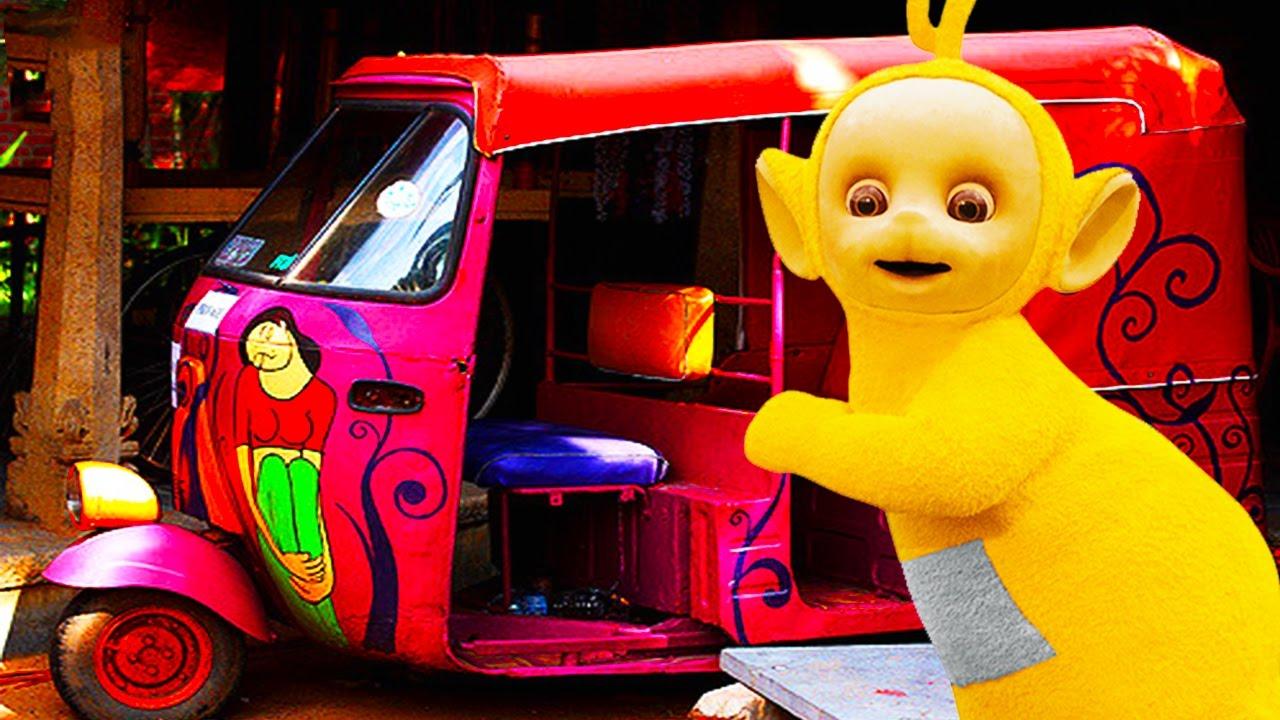 teletubbies rickshaw 352 cartoons for children youtube