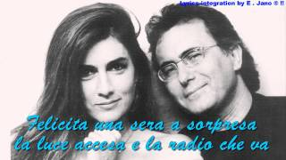 "Albano Carrisi & Romina Power ~"" FELICITA ""  With Lyric"