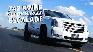 742 RWHP Cadillac Escalade: Built and Tested by Hennessey Performance