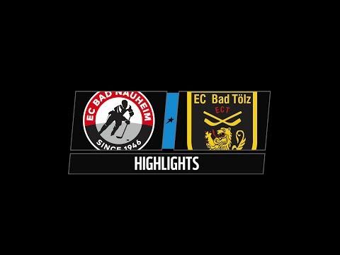 DEL2 Highlights 16. Spieltag | EC Bad Nauheim vs. EC Bad Tölz