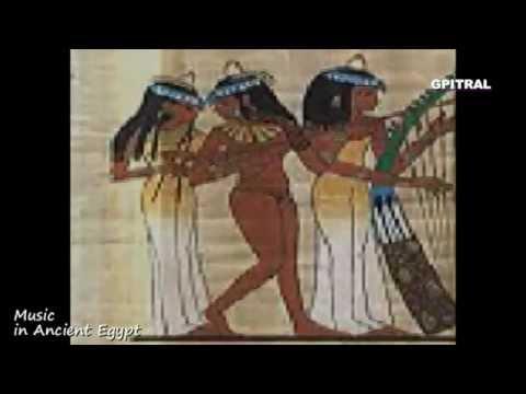 Αίγυπτος 35 Μουσική Music in Ancient Egypt