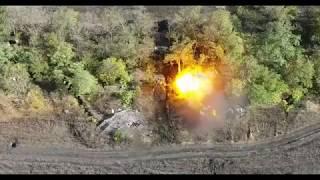 Фантастически-точная работа артиллерии ВСН