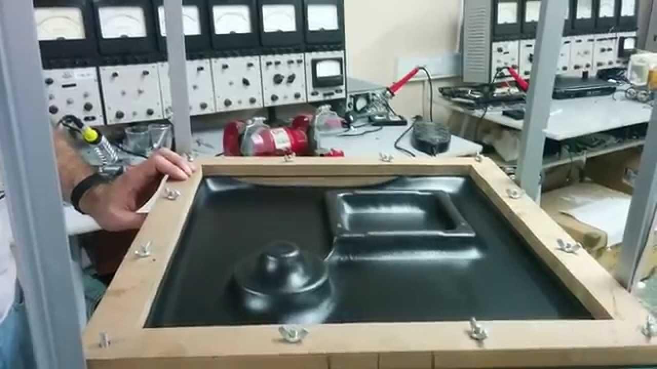 Vacuum Forming Machine Test 1 3mm Foamed Pvc Youtube