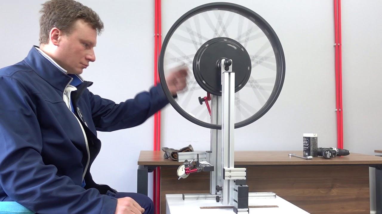 Спицовка мотор-колеса 1000Вт в один крест How to lace motor in rim, 1 cross direct drive hub-motor